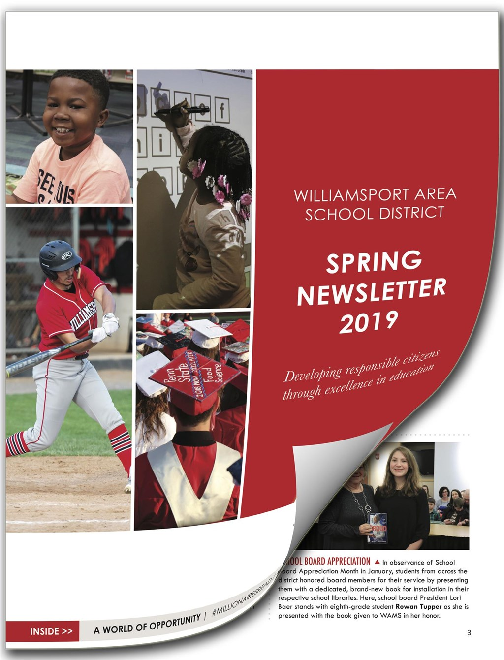 2019 Spring Newsletter Cover