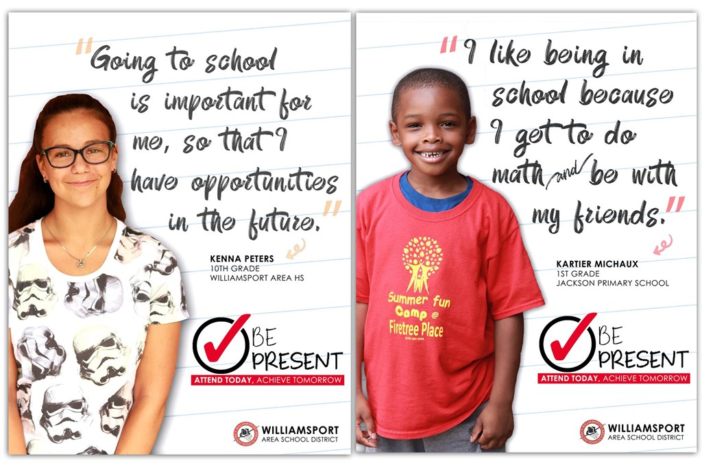 Be Present Campaign Image