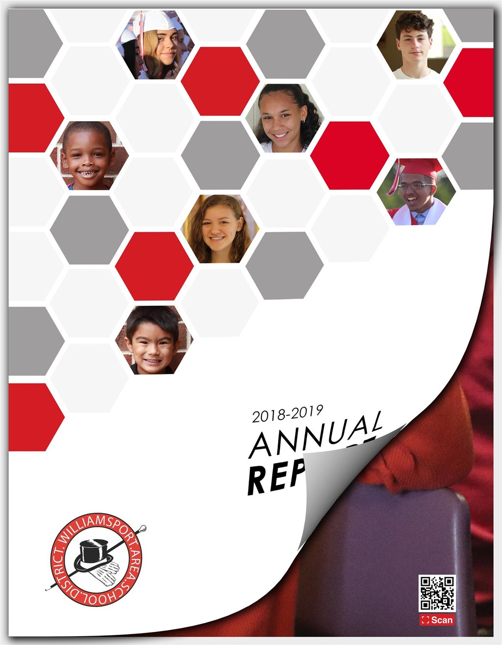 FY19 Annual Report Cover with Border