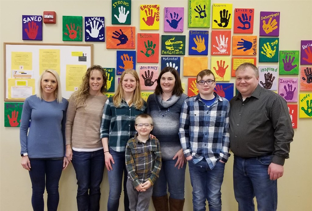 Fink with 2018 Beneficiaries