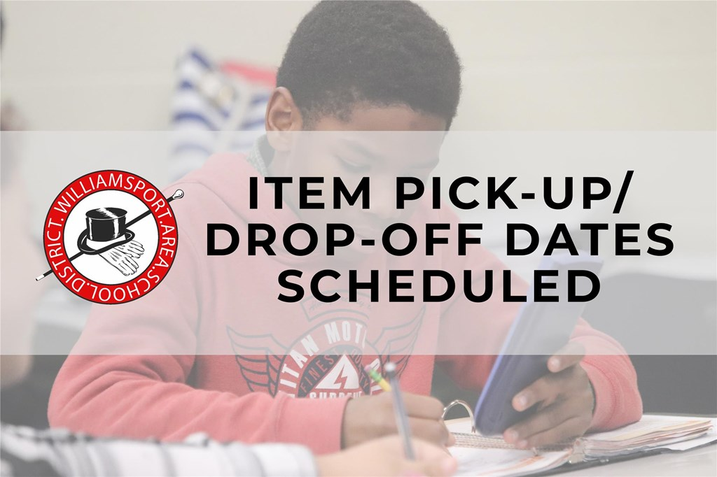 Item Pick-Up/Drop-Off Graphic