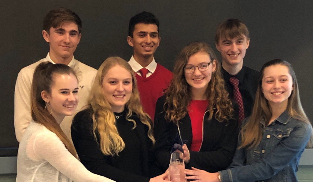 WAHS 2019 Stem Comp Winners