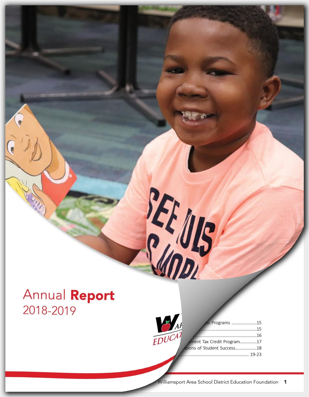 FY19 WASDEF Annual Report Cover 2